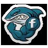 Shark Shiver FaceBook Badge